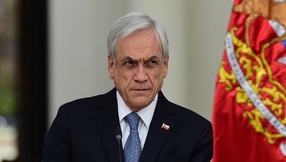 La popularidad de Sebastián Piñera se hunde a 10% en medio de la crisis en Chile (AFP / Johan ORDONEZ).