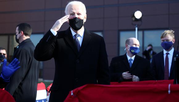 El presidente electo, Joe Biden. REUTERS