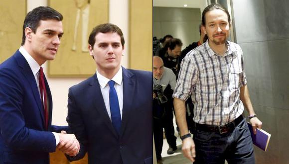 España: Podemos se aleja del PSOE y votará contra Sánchez