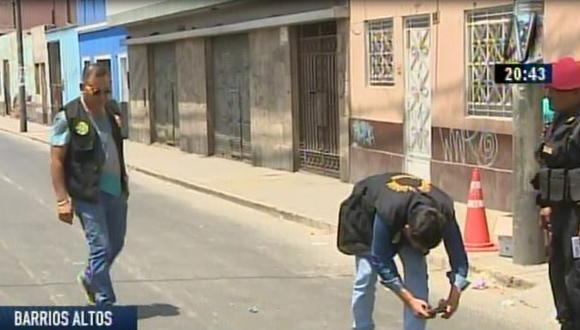 Barrios Altos: joven fue asesinado de tres balazos por sicarios