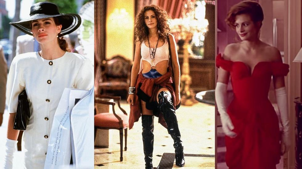 """Recorre la galería y descubre 5 looks que nos inspiran de la película """"Pretty Woman"""". (Fotos: Instagram @ceo.movies/ @kinoheroi/ @moviecharacterfashion)"""