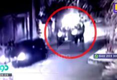 Surco: cámaras de seguridad registraron asalto a pareja que estaba a bordo de su auto | VIDEO