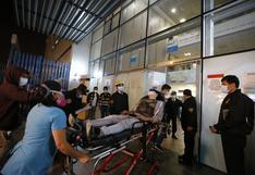 Marcha nacional: estas son las 19 personas que continúan hospitalizadas tras las protestas