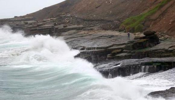 Brisa fuerte afectará litoral centro y sur hasta el martes 5