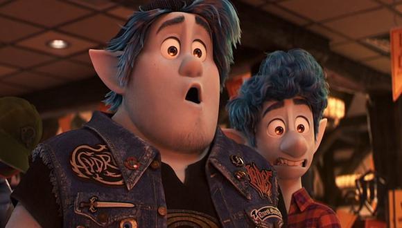 """La película animada de Pixar/Disney """"Onward"""" mantuvo el primer puesto durante la segunda semana. (Foto: Difusión)"""