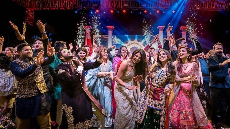 Priyanka Chopra compartió en redes sociales las imágenes de su boda con NJick Jonas. Fuente: Instagram.