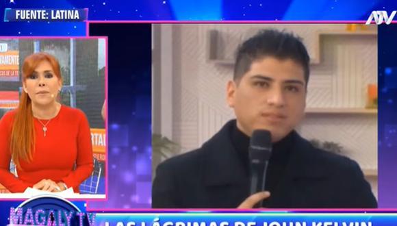 Magaly Medina emite una dura crítica a John Kelvin tras ofender a su esposa Dalia Durán. (Foto: Captura de video)