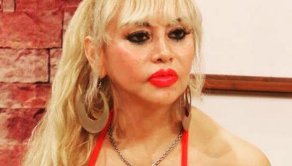Susy Díaz aseguró que debe pagar 4.600 soles por solo dos meses de servicio de luz. (@sudiazoficial).