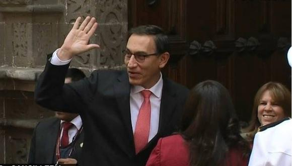 Presidente Martín Vizcarra recibirá en Palacio de Gobierno a representantes de ocho partidos políticos (Foto: GEC)