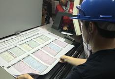 Elecciones 2018: ONPE inició la impresión de las cédulas de sufragio