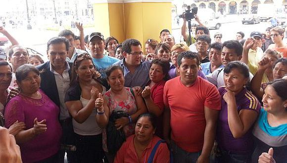 La Parada: minoristas marcharon hacia la Municipalidad de Lima