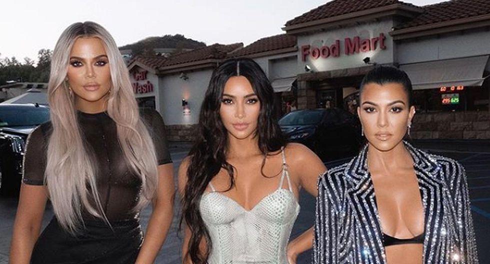 Kim Kardashian está para apoyar siempre a sus hermanas, más aún si alguna tiene un problema estético. Eso lo sabe muy bien Khloé Kardashian. (Foto: Instagram)