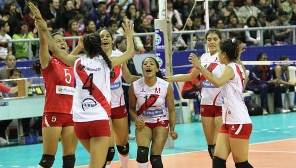 Vóley: Perú derrotó 3-0 a Uruguay en Sudamericano Sub 18