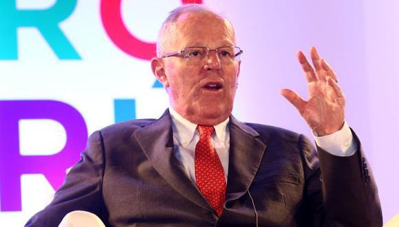 """""""Es importante que se haya dado continuidad durante los gobiernos, pero nuestro objetivo es acelerar este proceso"""", afirmó también PPK durante su participación en el Foro Perú OCDE 2016. (Foto: Presidencia de la Rep&"""