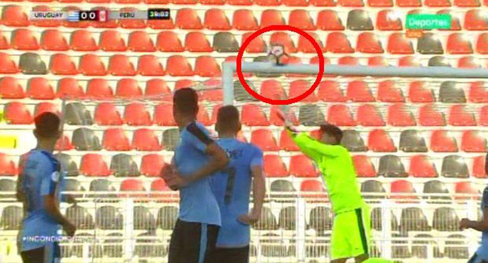 Perú vs. Uruguay EN VIVO: Távara y el tiro libre que casi se convierte en el 1-0 para la bicolor | VIDEO. (Foto: Captura de pantalla)