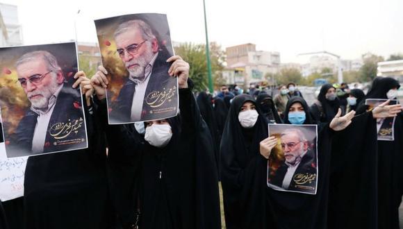 Este sábado hubo varios actos de recuerdo y homenaje a Mohsen Fakhrizadeh en Irán. (REUTERS).