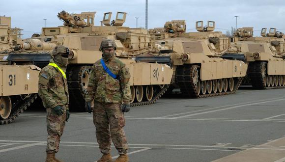 Estados Unidos desplegará 500 soldados suplementarios en Alemania, anunció este martes el actual secretario de Defensa, Lloyd Austin. (Foto: Patrik Stollarz / AFP).
