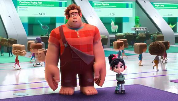"""Disney presentó en Facebook el tráiler de """"RAlph el demoledor 2"""", que llegará a nuestra región como """"WIFI Ralph"""". (Facebook)"""