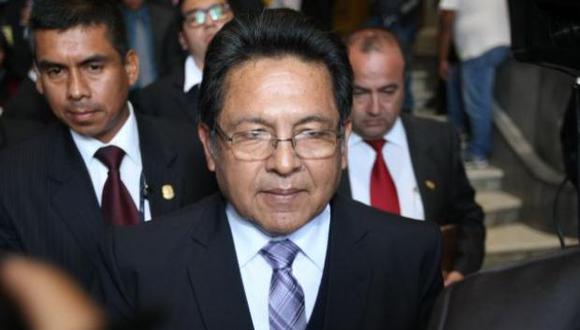 El ex fiscal de la Nación Carlos Ramos espera resolución del Tribunal Constitucional para ser repuesto como fiscal supremo. (Foto: GEC)
