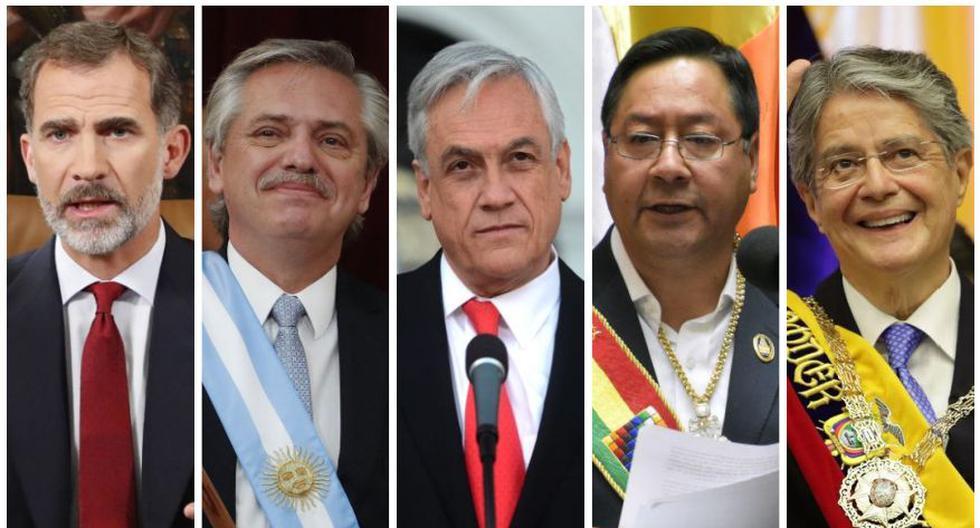 Presidentes y líderes asistirán a la investidura de Pedro Castillo como presidente del Perú.