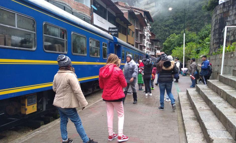 Machu Picchu: anuncian suspensión del servicio de tren para el lunes 13