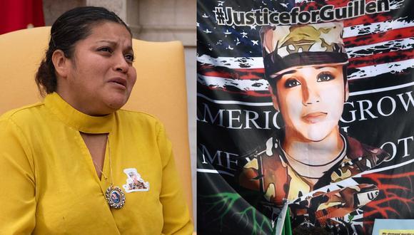 Gloria Guillén todavía se incomoda cuando tiene que recordar ciertos pasajes de esos primeros meses de incertidumbre y dolor tras el asesinato de su hija en la base militar de Fort Hood, Texas. (ROBYN BECK - JIM WATSON / AFP).