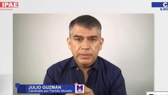 Julio Guzmán participó en el CADE Electoral