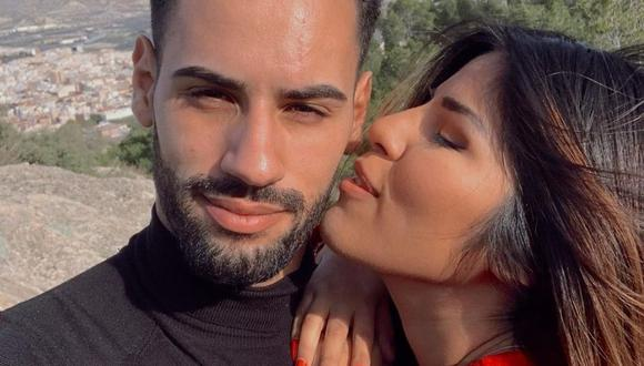 Isa Pantoja y Asraf Beno en una de las imágenes que comparten en sus redes sociales. (Foto: Instagram / @isapantojam).