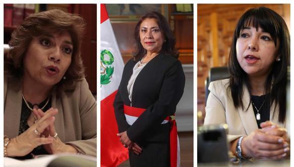 Zoraida Ávalos, Violeta Bermúdez y Mirtha Vásquez, tres mujeres en puestos clave dentro del aparato del Estado. Pero aún es largo el camino que queda para asegurar la participación política de la mujer en igualdad de condiciones.