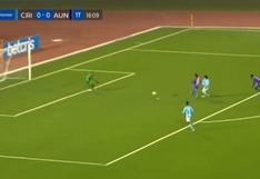 Sporting Cristal vs. Alianza Universidad EN VIVO: Cazulo anotó el 1-0 a favor de los celestes - VIDEO