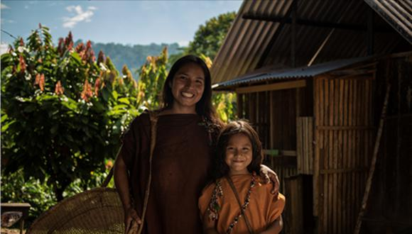 Familia Yanesha en el valle del Palcazú, en Oxapampa. (Foto: Difusión)