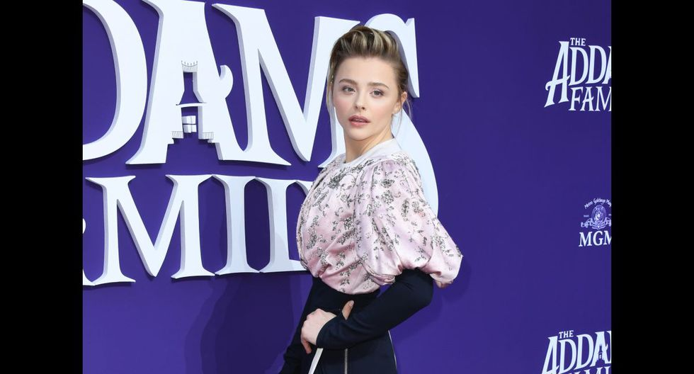 """LOS ANGELES, CALIFORNIA - OCTOBER 06: Chloe Grace Moretz attends the premiere of MGM's """"The Addams Family"""" at Westfield Century City AMC on October 06, 2019 in Los Angeles, California.   Jon Kopaloff/Getty Images,/AFP"""