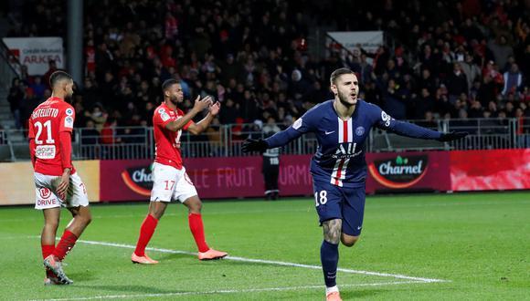Mauro Icardi convirtió el gol del triunfo | Foto: Reuters