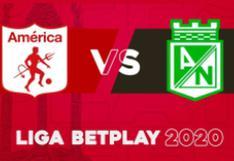Atlético Nacional venció 2-1 a América de Cali en la ida de los cuartos de final de la Liga Betplay