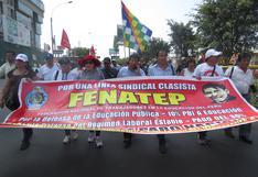 Pedro Castillo lideró gremio con afiliados y adherentes al Movadef