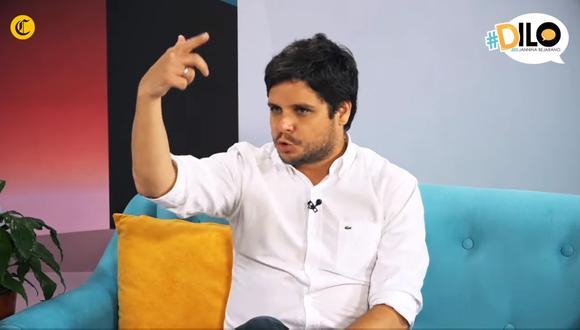 Gian Piero Díaz habla fuerte y claro sobre la infidelidad