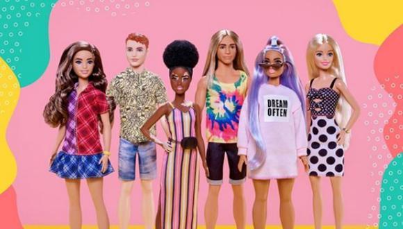 Esta es la colección más diversa que ha lanzado Barbie (Foto: Instagram)