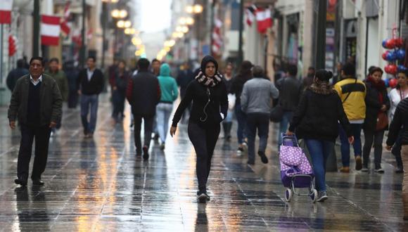 En Lima Oeste, la temperatura máxima llegaría a 16°C, mientras que la mínima sería de 13°C. (Foto: Alessandro Currarino / GEC)
