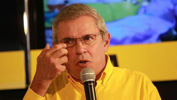 Pese a que SN anunció que Luis Castañeda participaría en debates, su vocera dejó entrever lo contrario. (Foto: Archivo El Comercio)