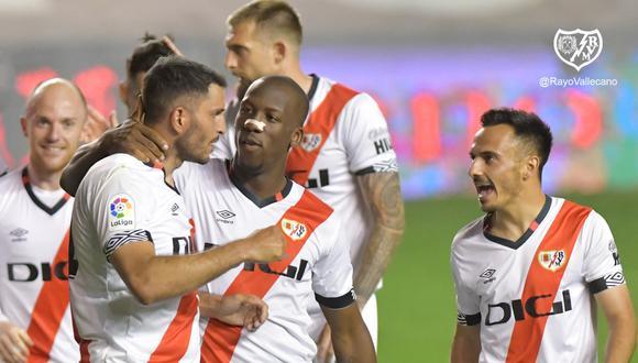 Rayo Vallecano de Luis Advíncula se medirá con Girona en la final de los playoffs de ascenso | Foto: @RayoVallecano