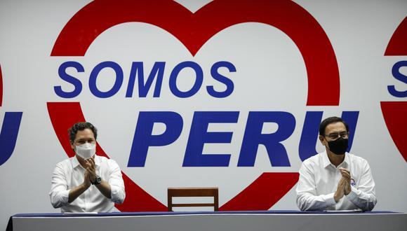 Daniel Salaverry, candidato a la presidencia de la República por Somos Perú, aseguró que Martín Vizcarra no tiene por qué renunciar a su candidatura. (Foto: Archivo GEC)