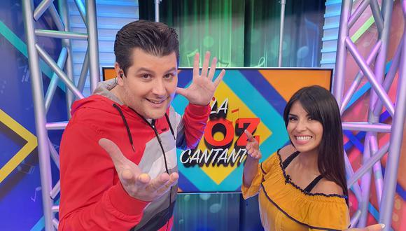 """El Mago George y Stephany Orúe preparan más de una sorpresa para el estreno del programa concurso """"La voz cantante"""". Katy Jara será la encargada de la competencia de freestyle. (FOTO: TV Perú)"""