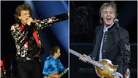 El vocalista de los Rolling Stone Mick Jagger respondió a las afirmaciones de Paul McCartney de que los Beatles fueron mejores. (Foto: AFP/Agencias)