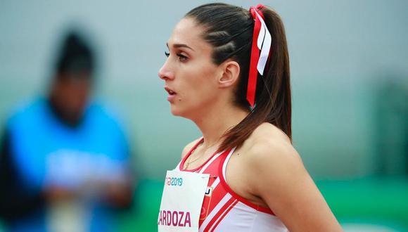 Panamericanos Lima 2019. Kimberly Carolina Cardoza participó en los 400 metros con vallas femeninos en el Estadio de Atletismo de la Videna. (Foto: Daniel Apuy / Grupo El Comercio)