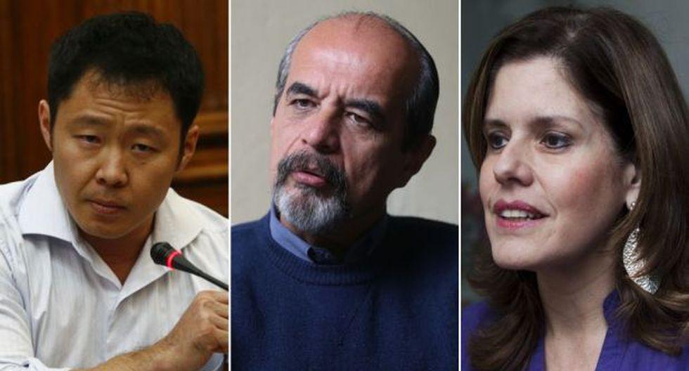 Kenji, Mulder y Aráoz serían los candidatos más votados