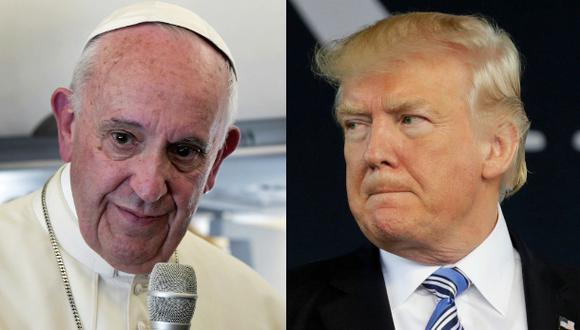 """Papa buscará """"puertas que no estén cerradas"""" al verse con Trump"""