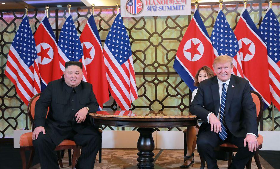 Donald Trump y Kim Jong-un enviaron 12 cartas desde 2018. Foto: Archivo de AFP