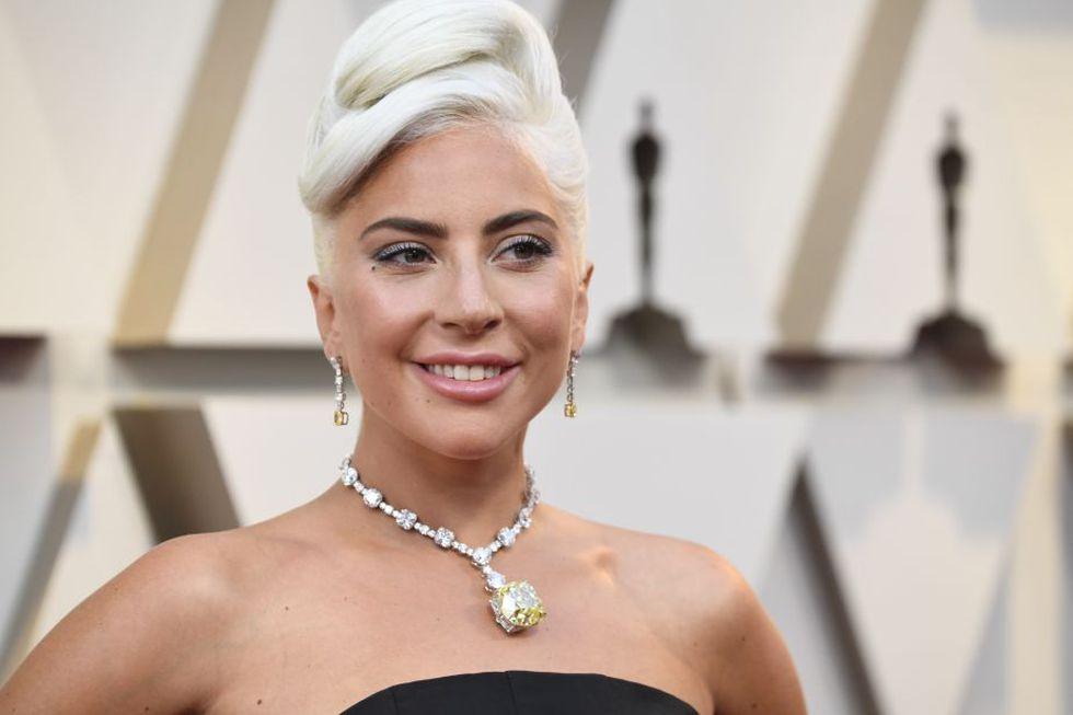 Lady Gaga, una de las grandes estrellas de la noche (Foto: AFP)