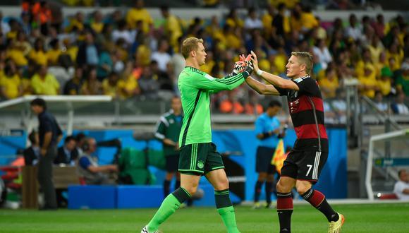 El hallazgo contendría lo que el comando técnico liderado por Joachim Löw preparó para Manuel Neuer frente a una posible definición por penales en aquel decisivo compromiso. (Foto: GEC)