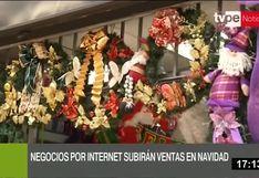 Ventas por internet incrementarían un 50% por fiestas navideñas